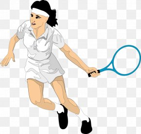 Tennis Player - Tennis Player Cartoon PNG