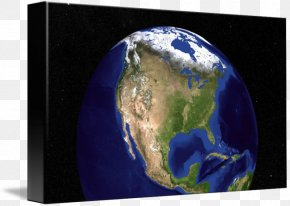 Earth Marble - Earth The Blue Marble United States Globe PNG
