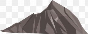 Mountain - Low Poly Polygon Mountain 3D Computer Graphics PNG