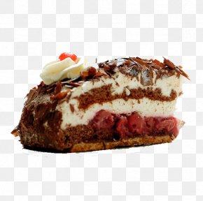 Chocolate Cake - Chocolate Cake Cream Torte Birthday Cake PNG
