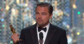 Leonardo Dicaprio - Leonardo DiCaprio 88th Academy Awards 1st Academy Awards Academy Award For Best Actor PNG