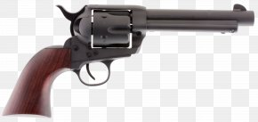 Handgun - Colt Single Action Army Revolver .357 Magnum Firearm Caliber PNG