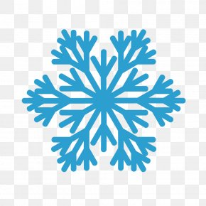 Free Snowflake - Silhouette Royalty-free PNG