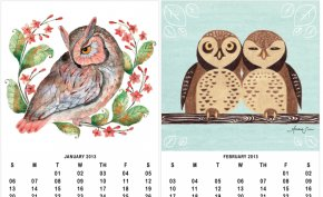 9 December Calendar Cliparts - Barn Owl Calendar Bird Illustration PNG
