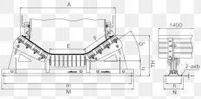 Conveyor Belt Illustration - Impact Conveyor System Conveyor Belt Bed Wear PNG