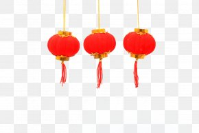 Chinese New Year Red Lanterns - Lantern Festival Chinese New Year PNG