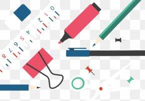 Clip Pen Pencil Eraser - Paper Pencil Eraser PNG