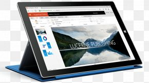 Microsoft Tablet PC - Microsoft Surface Microsoft PowerPoint Presentation Program Microsoft Office 365 Office Online PNG