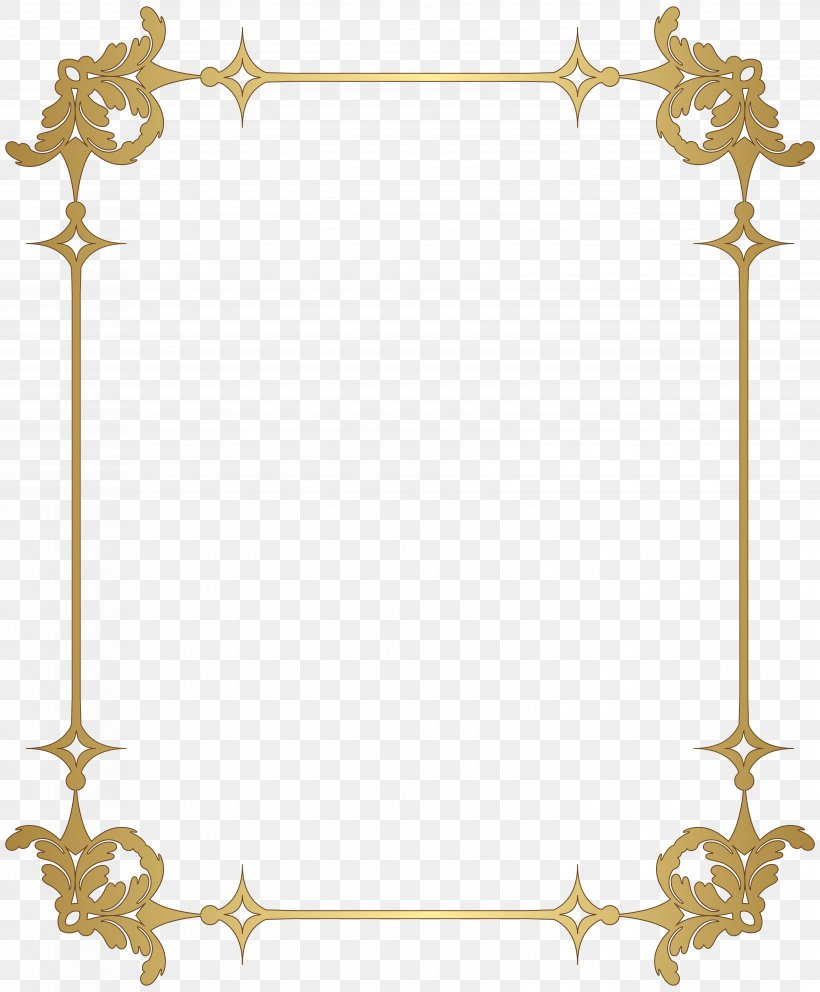 Picture Frame Clip Art, PNG, 6612x8000px, Borders And Frames, Area, Border, Decor, Decorative Arts Download Free