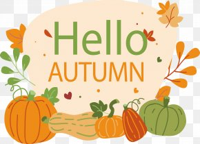 Autumn Poster Of Harvest - Pumpkin Autumn PNG