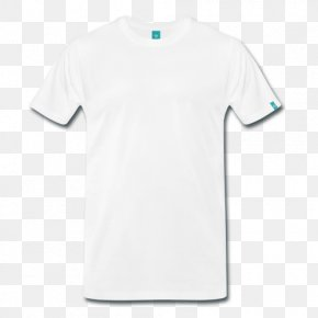 White T-shirt - T-shirt Clothing Sleeve Spreadshirt PNG
