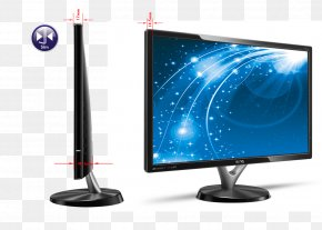 Cn - LED-backlit LCD Computer Monitors LCD Television Output Device Multimedia PNG
