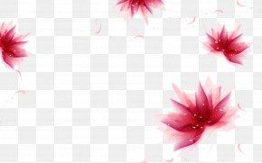 Fantasy Flowers - Desktop Wallpaper High-definition Video Display Resolution Wallpaper PNG