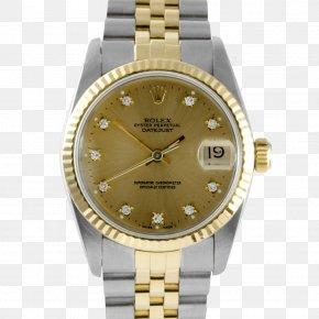 Diamond Bezel - Rolex Datejust Automatic Watch Diamond PNG