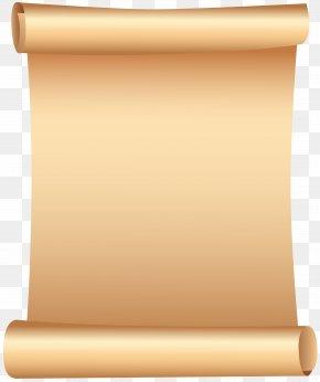 Scrolled Paper Clip Art - Scroll Clip Art PNG