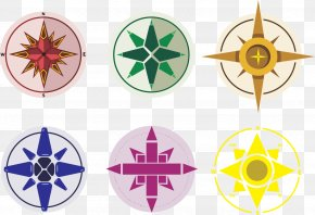 Vector Color Compass - Compass Stock Illustration Icon PNG