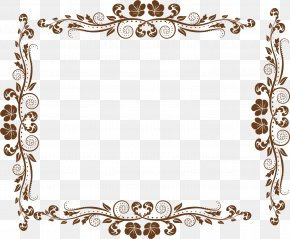Cute Pattern Border - Europe Picture Frame Ornament PNG