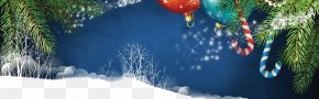 Water Sky - Merry Christmas Happy New Year Christmas Background PNG