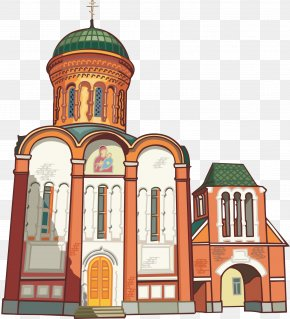 Castle - Cathedral Of Christ The Saviour Saint Basils Cathedral Temple Church Clip Art PNG