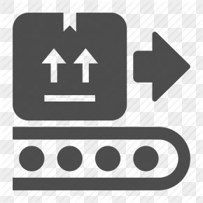 Free High Quality Production Icon - Conveyor Belt Conveyor System Box Delivery PNG