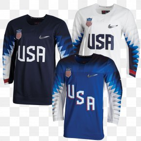 Promotional Price - 2018 Winter Olympics United States National Men's Hockey Team Ice Hockey At The Olympic Games Canada Men's National Ice Hockey Team Hockey Jersey PNG