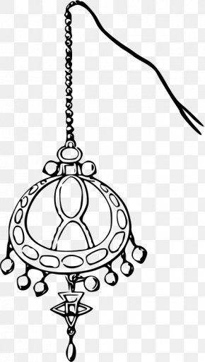 Indian Style - Earring Jewellery Necklace Clip Art PNG