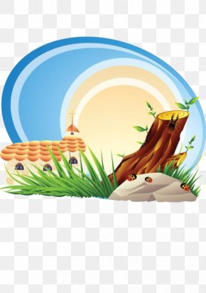 Cartoon Tree House - Cartoon Royalty-free Clip Art PNG