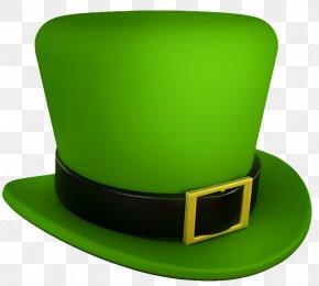 Saint Patrick's Day - Saint Patrick's Day Hat Shamrock Clip Art PNG