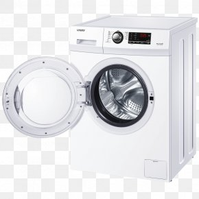 Washing Machin - Washing Machines Clothes Dryer Laundry Home Appliance PNG