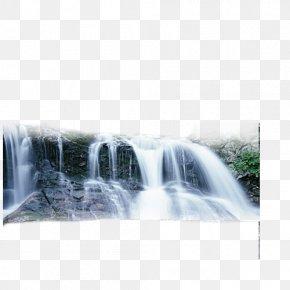 Nature - Waterfall Nature Wallpaper PNG