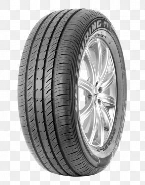 Car - Car Dunlop Tyres Tire Rim Tread PNG