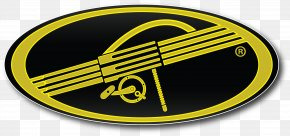 Yellow Oval - Fishing Rods Logo Clip Art PNG