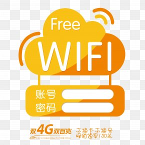 Free WIFI - Wi-Fi Download Wireless Network Computer Network PNG
