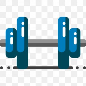 Dumbbell - Dumbbell Physical Exercise Physical Fitness Olympic Weightlifting Icon PNG