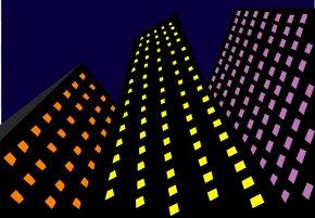 Skyscraper - Template Microsoft PowerPoint Ppt Presentation Clip Art PNG