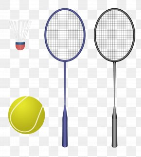 Vector Badminton - Badminton Racket Sport PNG