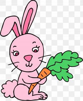 Free Rabbit Clipart - Easter Bunny Rabbit Cartoon Clip Art PNG
