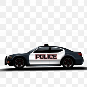 Vector Police Car - Police Car Police Officer PNG