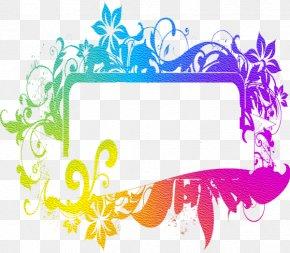 Flower - Clip Art Borders And Frames Image Illustration Flower PNG