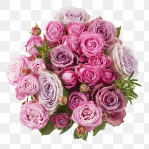 Flower - Garden Roses Cut Flowers Flower Bouquet Cabbage Rose Flower Delivery PNG