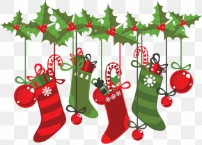 Greeting - Christmas Stockings Christmas Card Greeting & Note Cards Clip Art PNG
