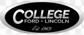 Lincoln Motor Company - College Ford Lincoln Ford Motor Company Car MINI PNG