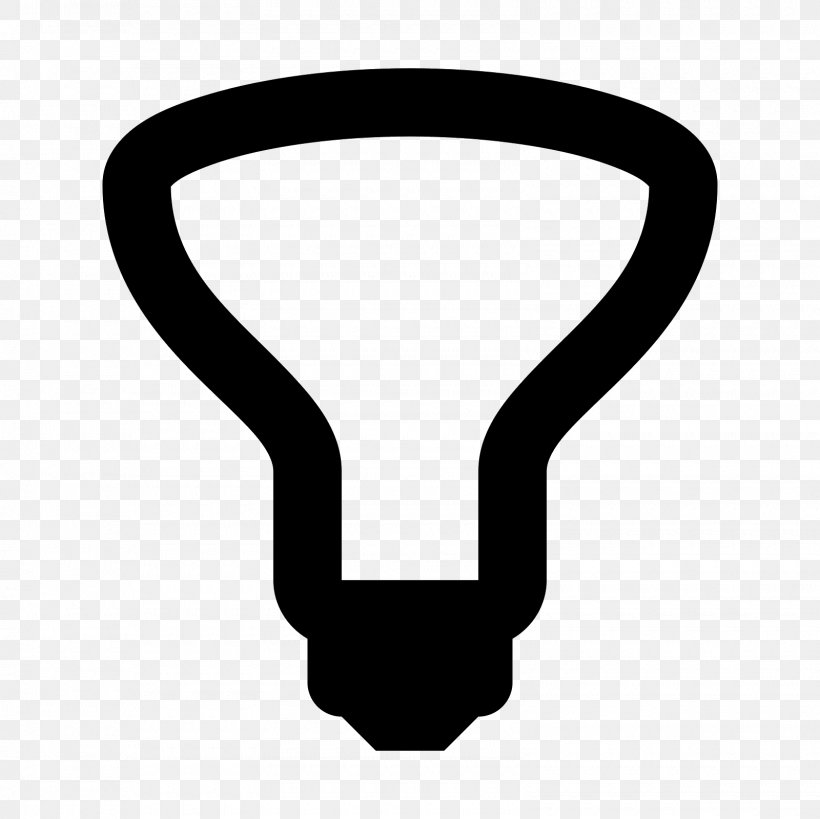 Reflector Clip Art, PNG, 1600x1600px, Reflector, Black And White, Incandescent Light Bulb, Symbol Download Free