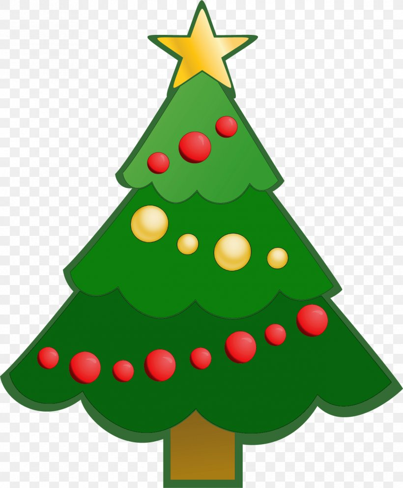 Christmas Tree Clip Art, PNG