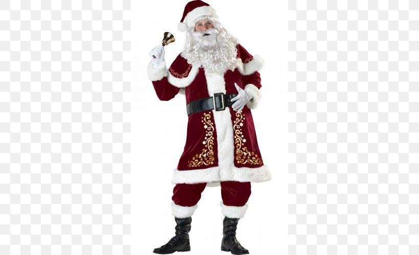 Santa Claus Mrs. Claus Costume Santa Suit Christmas, PNG, 500x500px, Santa Claus, Christmas, Christmas Ornament, Clothing, Costume Download Free