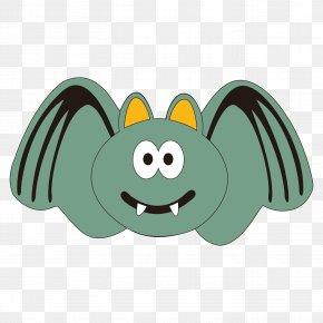 Halloween Cartoon Bat - Bat RGB Color Model PNG