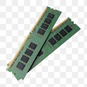 Computer - DDR2 SDRAM Computer Data Storage Flash Memory PNG