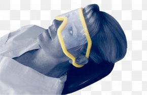 Yellow Blue - Goggles Lens Disposable Glasses Eyewear PNG