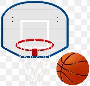 Basketball Hoop - Backboard Basketball NBA Net PNG