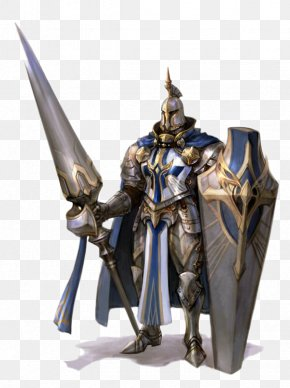 Heavy Armor Holding Shields Soldiers Spear - Pathfinder Roleplaying Game Dungeons & Dragons Plate Armour Shield PNG